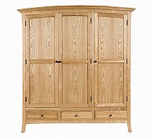 Barrow Clark - Bow Triple Wardrobe