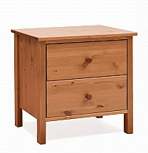 Stompa - Classic Kids 2 Drawer Bedside