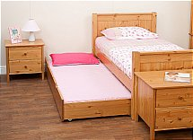 Stompa - Classic Kids Single Bed with Trundle Bed