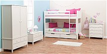 Stompa - Classic Kids Bedroom in White