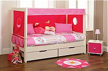 Stompa - Play Day Bed in Pink Polka Dots