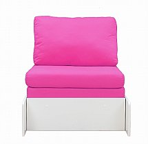 Stompa - Uno Pull Out Chair Bed - Pink