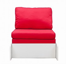 Stompa - Uno Pull Out Chair Bed - Red
