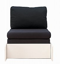 Stompa - Uno Pull Out Chair Bed - Nero