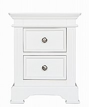 Barrow Clark - Cheltenham Painted  2 Drawer Bedside Cabinet