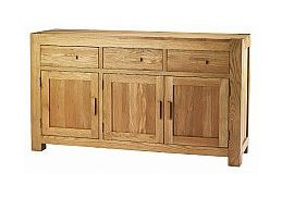 Barrow Clark - Oslo Oak 3 Door Sideboard