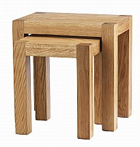 Barrow Clark - Oslo Oak Nest of 2 Tables