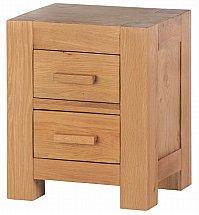 Barrow Clark - Oslo Oak Bedside Cabinet