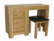 Barrow Clark - Oslo Oak Dressing Table and Stool
