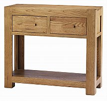 Barrow Clark - Oslo Oak Console Table