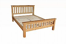 Barrow Clark - Gloucester 4Ft 6 in Bed High End