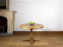 Old Charm - Chatsworth Round Dining Table