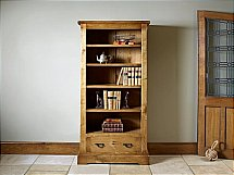 Old Charm - Chatsworth Bookcase with Drawer
