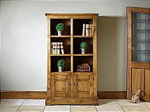 Old Charm - Chatsworth Bookcase with Doors