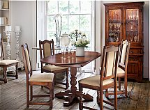 Old Charm - Aldeburgh table and 4 chairs
