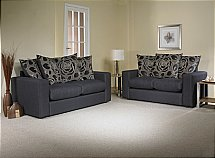 Cavendish - Lauren 3 and 2 Seater Pillowback Sofas