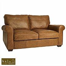 Halo - Hudson 2 Seater Leather Sofa