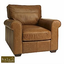 Halo - Hudson Leather Armchair