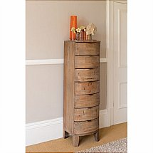 Barrow Clark - Driftwood 7 Drawer Tall Chest