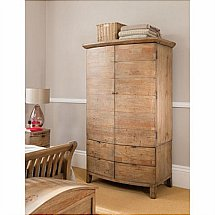 Barrow Clark - Driftwood Large Double Wardrobe