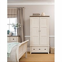 Barrow Clark - French Country Large Double Wardrobe