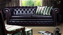 Wade Upholstery - Brighton Leather Sofa