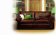 Wade Upholstery - Berrington Leather Sofa