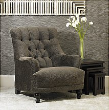Wade Upholstery - Tatton Button Back Chair