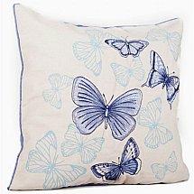 Malini - Papillon Cushion Cornflower Blue