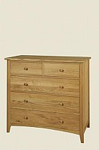 Coach House - Harvard 5 Drawer Chest