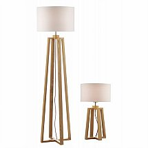 11778/Dar-Lighting/Pyramid-Table-and-Floor-Lamp