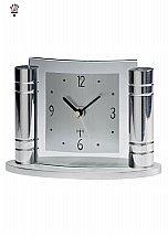 3885/BilliB-Greek-Chrome-Mantel-Clock