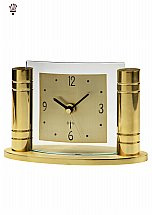 3886/BilliB-Greek-Gold-Mantel-Clock