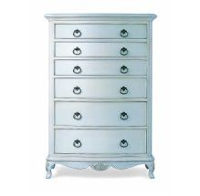Willis and Gambier - Ivory 6 Drawer Chest