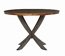 Stag - The Maltings Round Dining Table