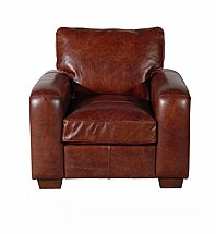 Barrow Clark - Cambridge Leather Armchair