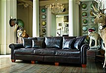 Duresta - New Plantation Grand Split Sofa - Leather