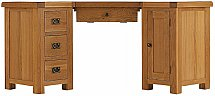 Barrow Clark - Oakleaf Corner Computer Desk