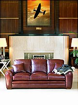 Duresta - Spitfire Grand Leather Sofa