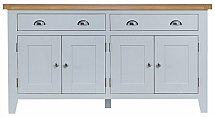 Barrow Clark - New England 2 Drawer 4 Door Sideboard