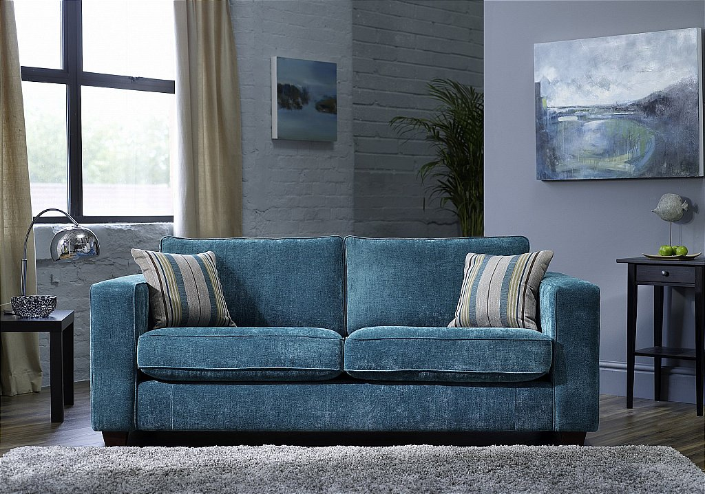 ashwood pedro sherlock teal sofa