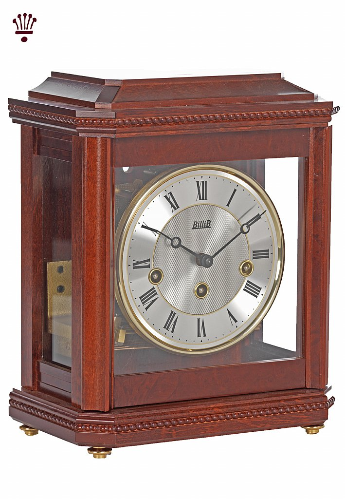 BilliB - Birchgrove Mantel Clock - Mahogany