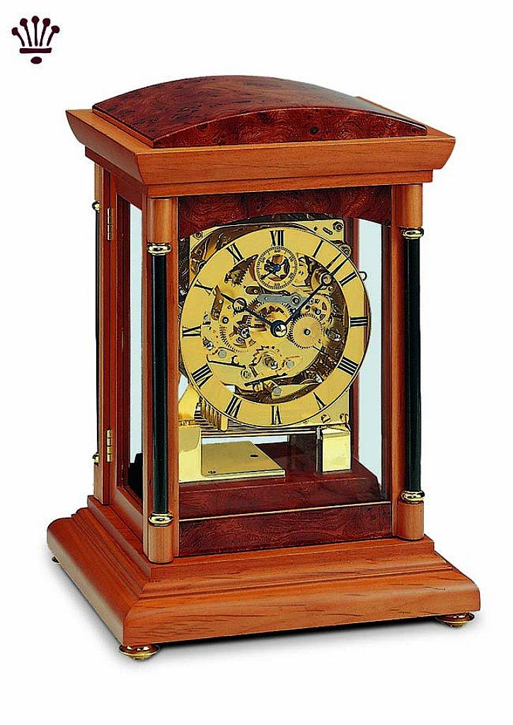 BilliB - Bradley Mantel Clock - Yew