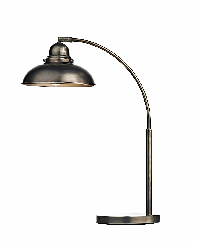 Dar Lighting - Dynamo Table Lamp in Antique Chrome
