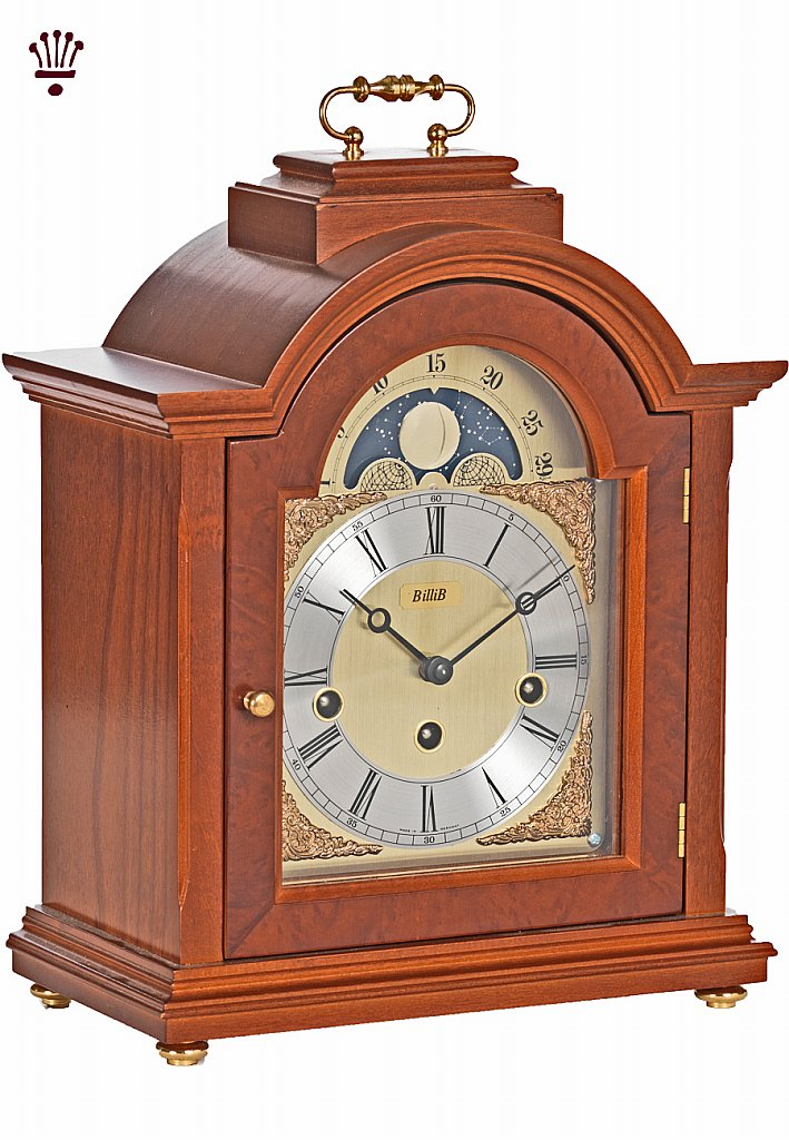 BilliB - Linton Mantel Clock - Yew