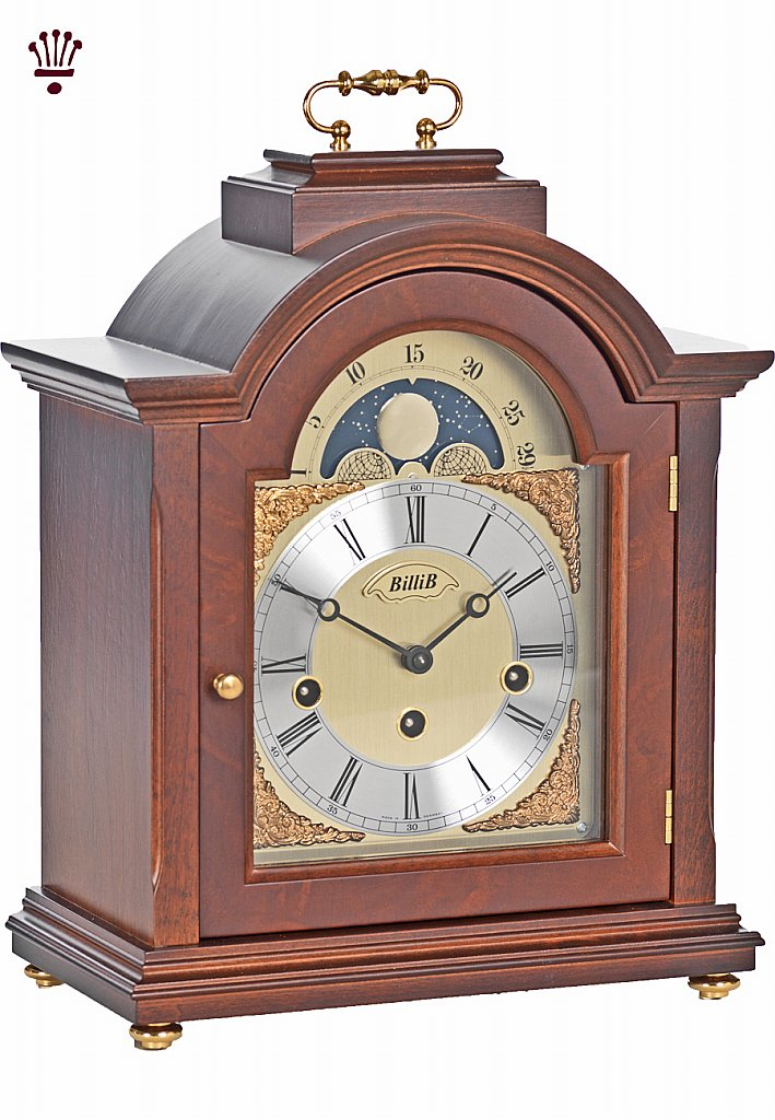 BilliB - Linton Mantel Clock - Walnut