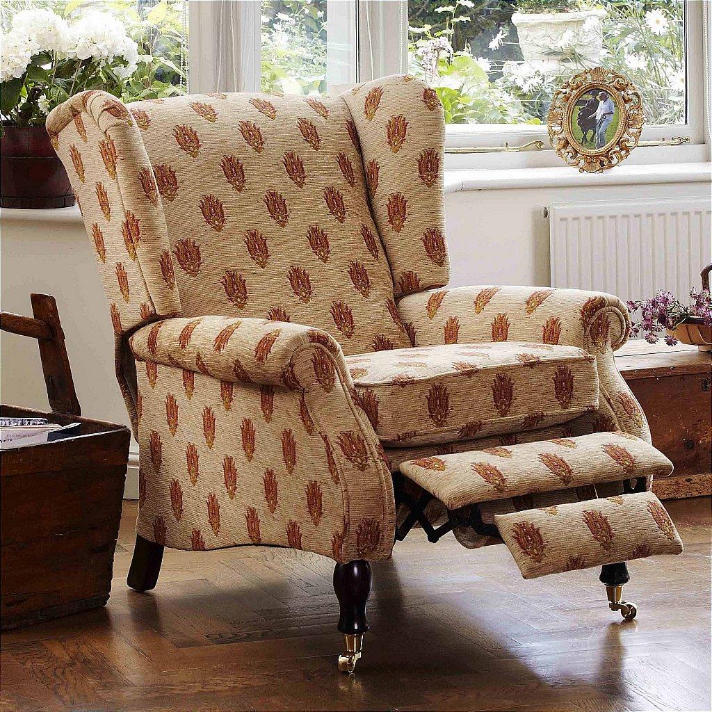 parker knoll york manual recliner chair. Black Bedroom Furniture Sets. Home Design Ideas
