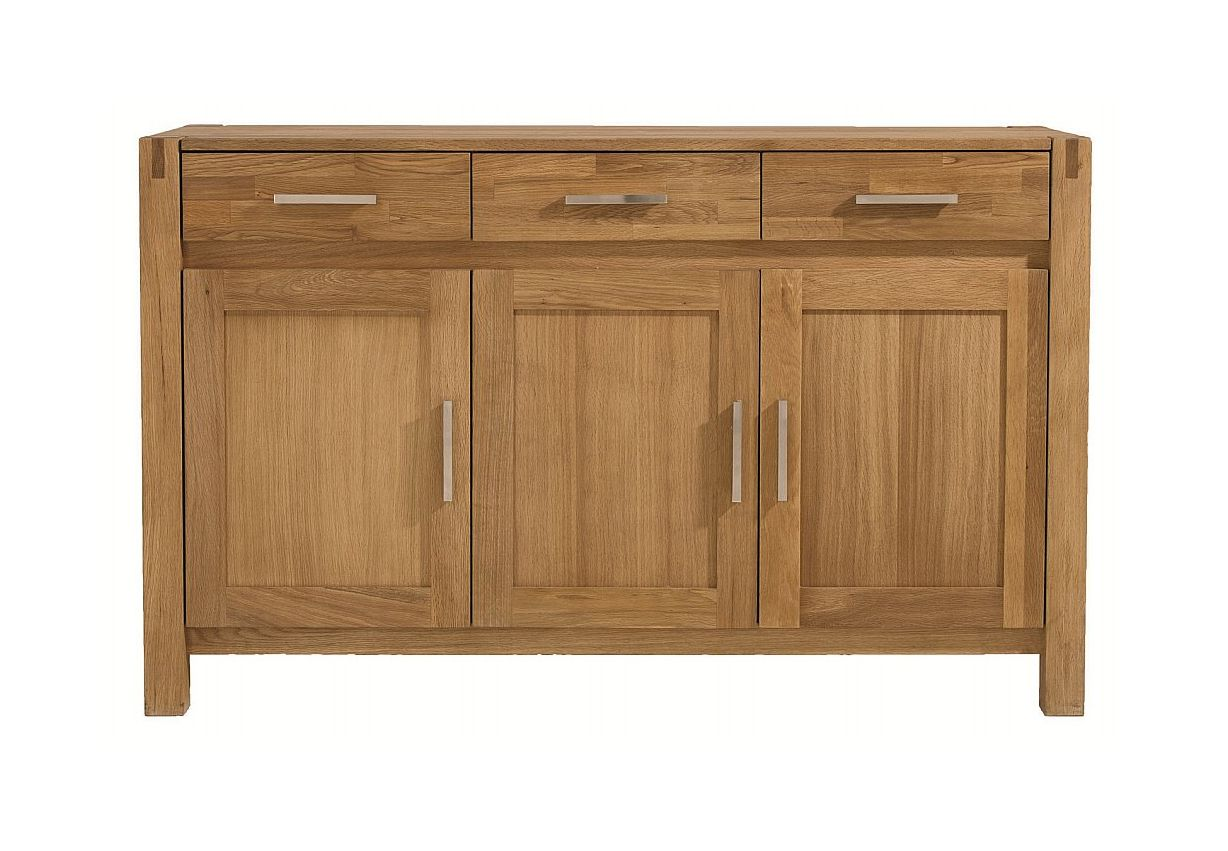 Unique - Royal Oak 3 Door Sideboard