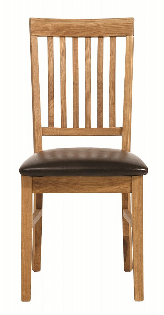 Unique - Royal Oak Leather Dining Chair