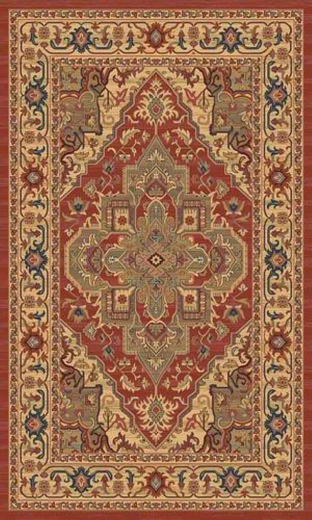 Mastercraft Rugs - Ziegler 8788 Red Rug